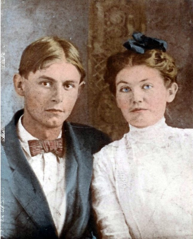 John & Gertie Tapp Hankins