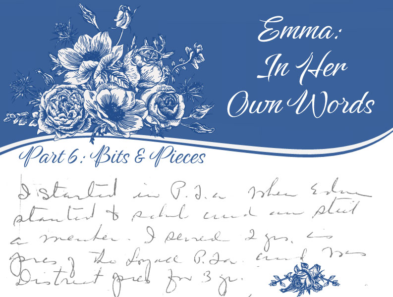 Emma: In Her Own Words