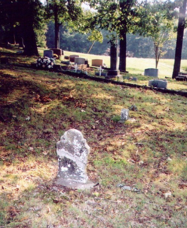 Aggie Lee Hankins' headstone