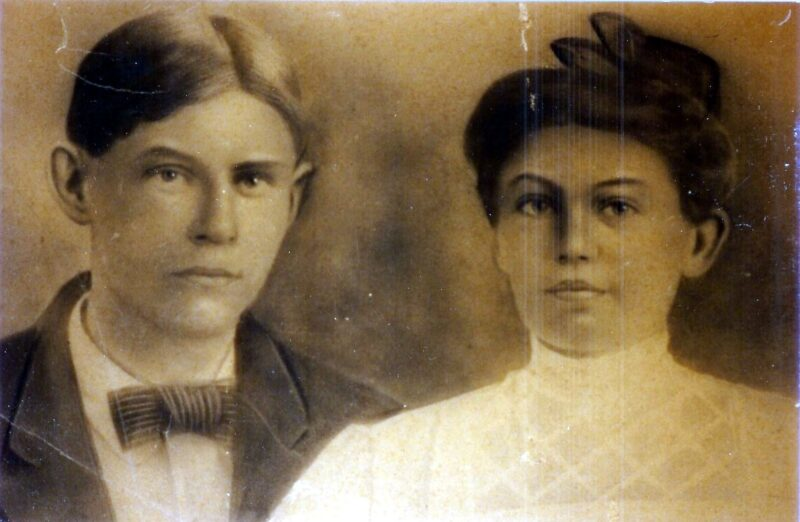 John and Gertie Hankins