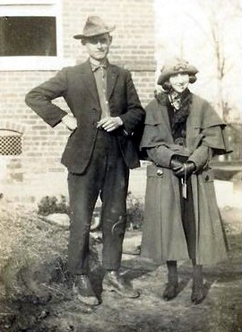 John & his sister-in-law, Margaret