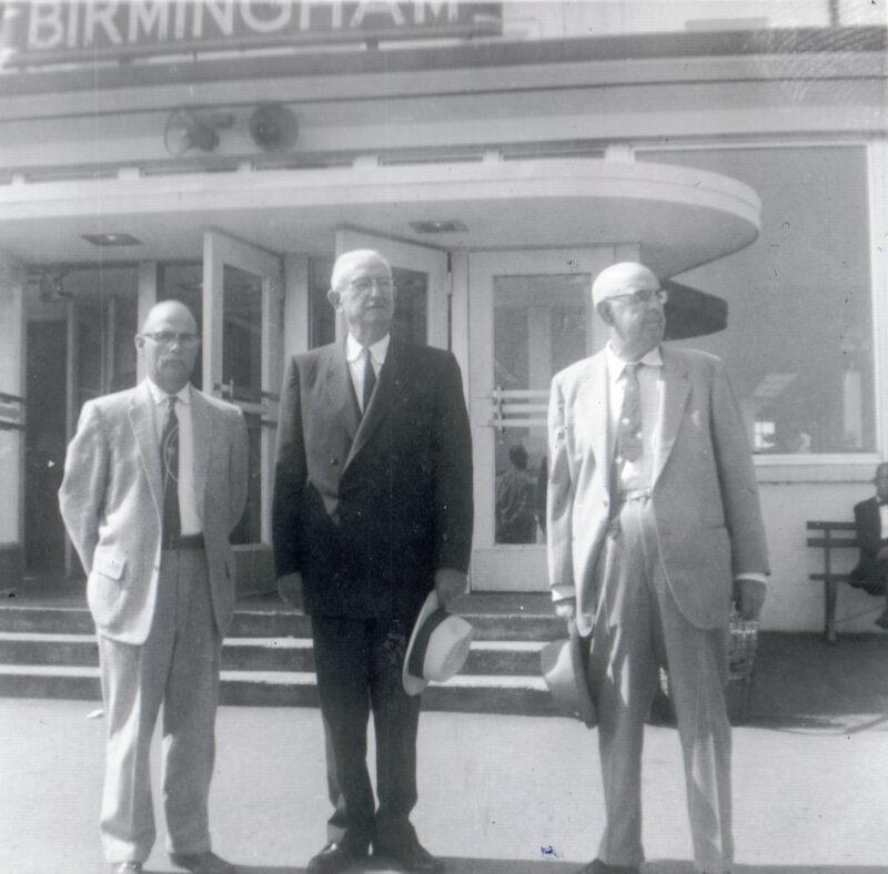 Forrest, Elvie, & Dick Hankins