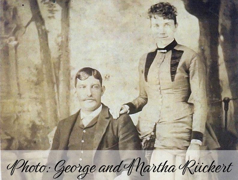 Photo: George & Martha Riickert